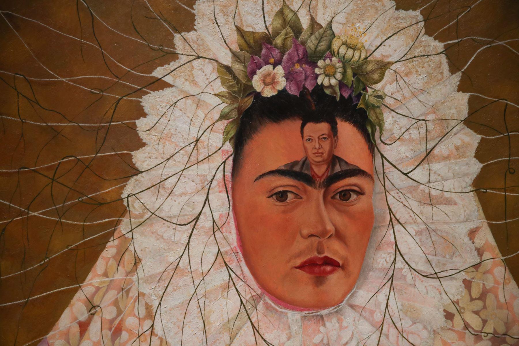 Autorretrato de Frida Kahlo Foto: AFP