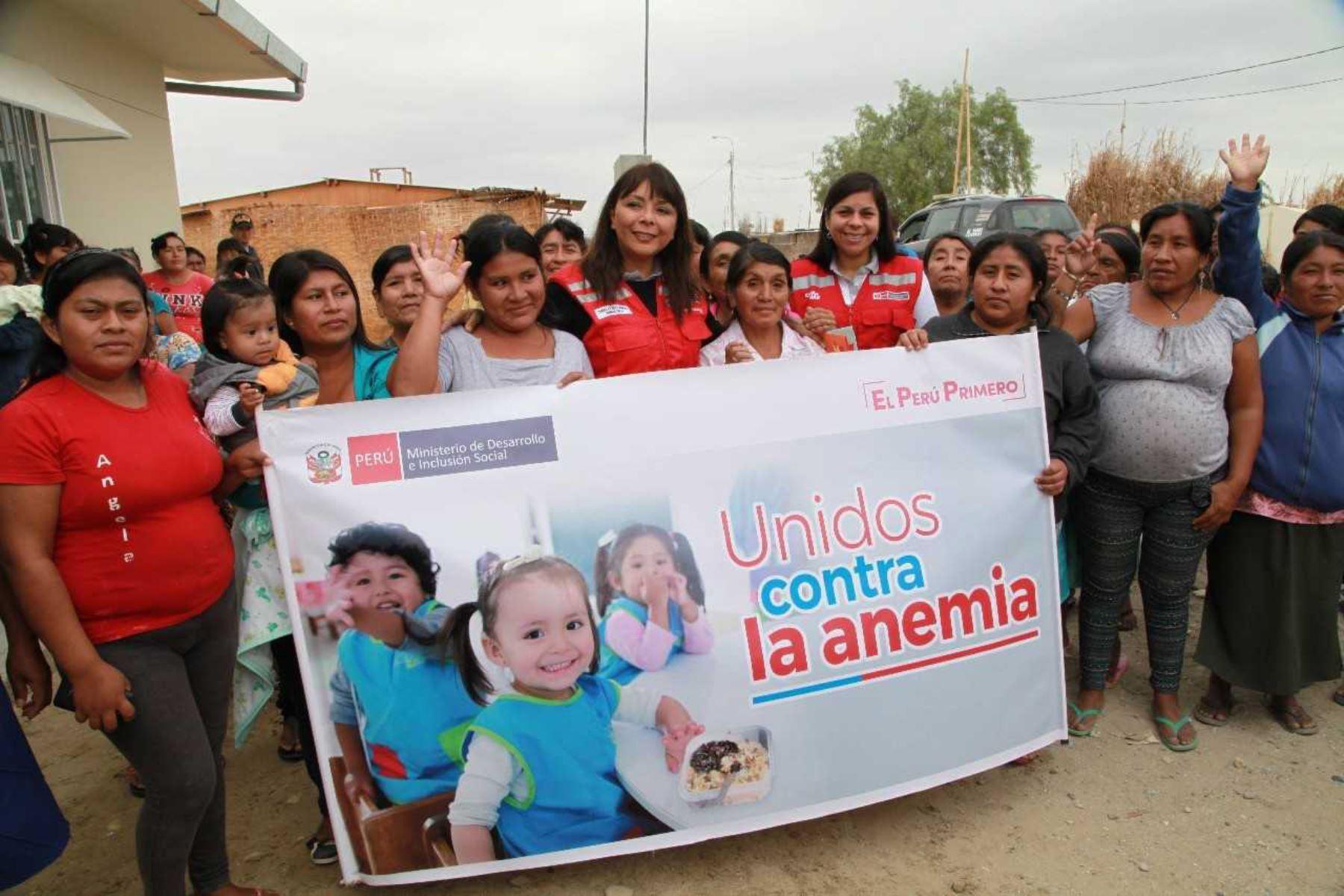 La ministra de Desarrollo e Inclusión Social, Liliana La Rosa, resaltó hoy la importancia que todos los alcaldes distritales del país se involucren en las estrategias y acciones que plantea la lucha contra la anemia para así lograr los mejores resultados.