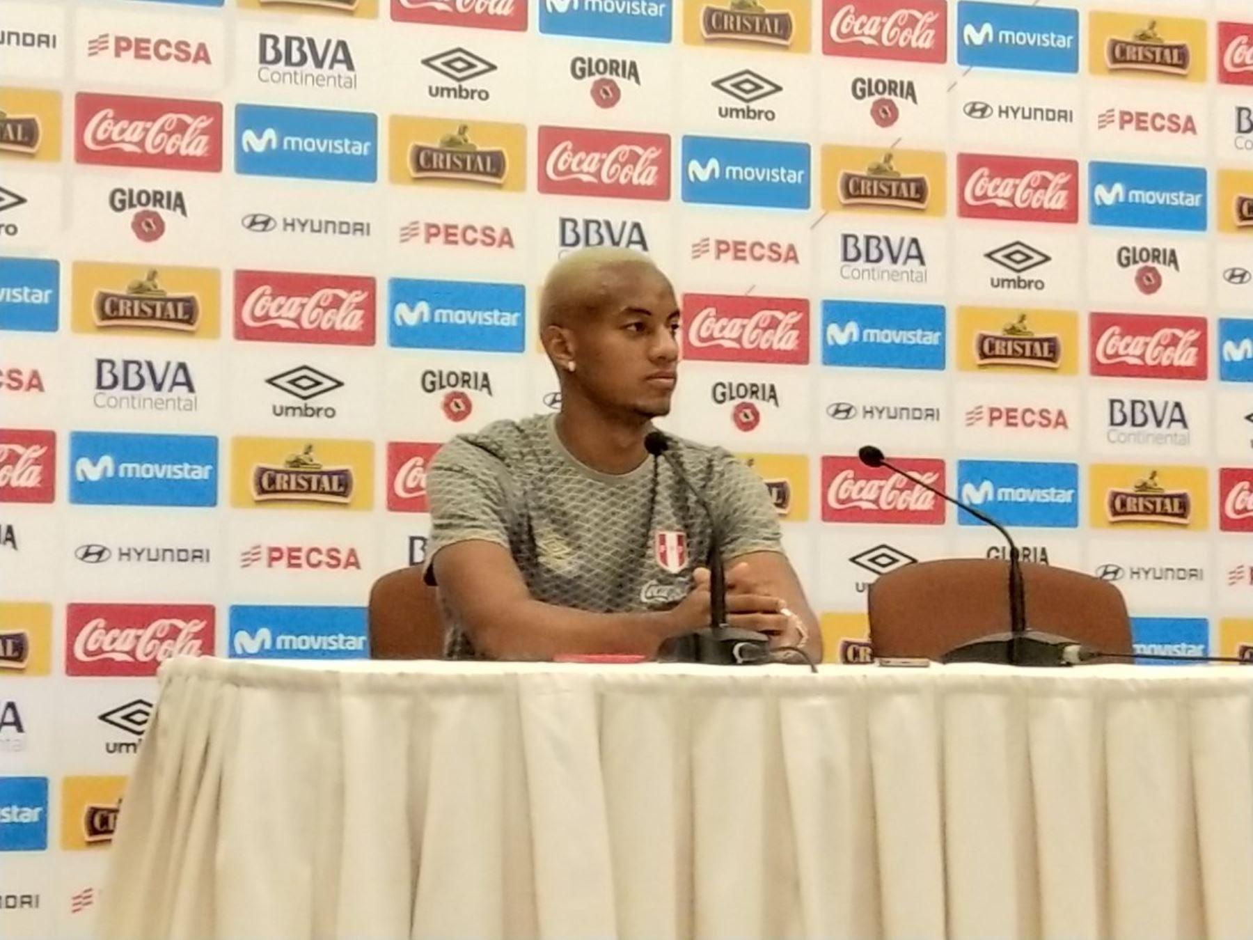 André Carrillo mentalizado para lograr la clasificación a octavos de final.