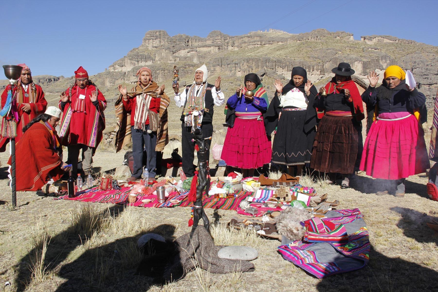 Puno inicia actividades para celebrar el Año Nuevo Andino este jueves 21 de junio. ANDINA
