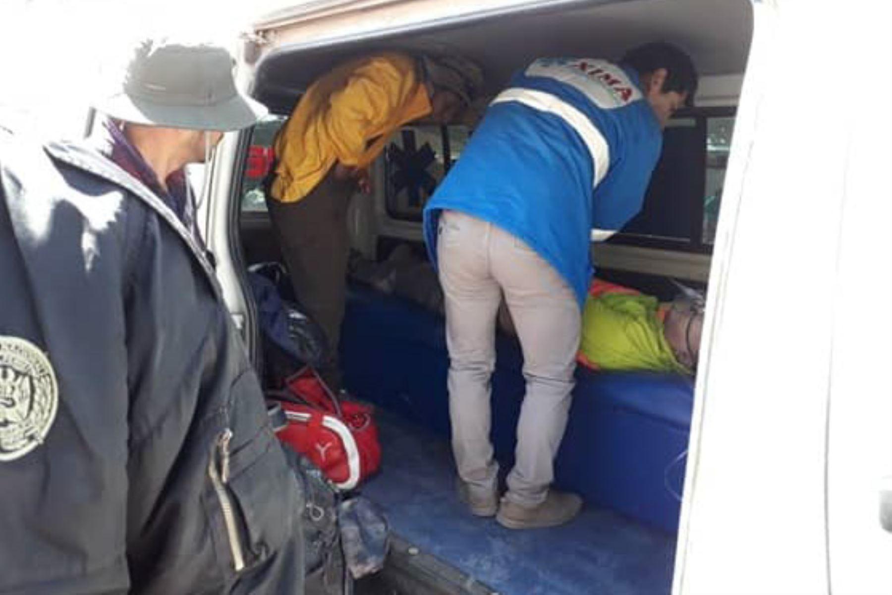 Turista coreano-estadounidense fallece al llegar a cumbre del Winikunka o montaña de 7 colores, en Cusco. ANDINA