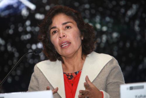 Ministra de Cultura, Patricia Balbuena. ANDINA/Norman Córdova