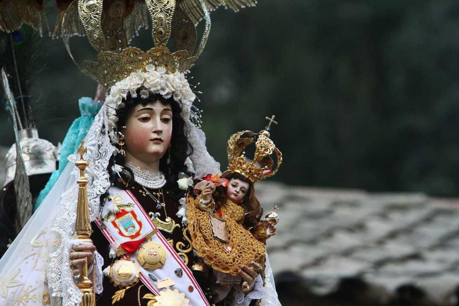 Virgen del Carmen de Paucartambo, en la región Cusco. ANDINA/Archivo