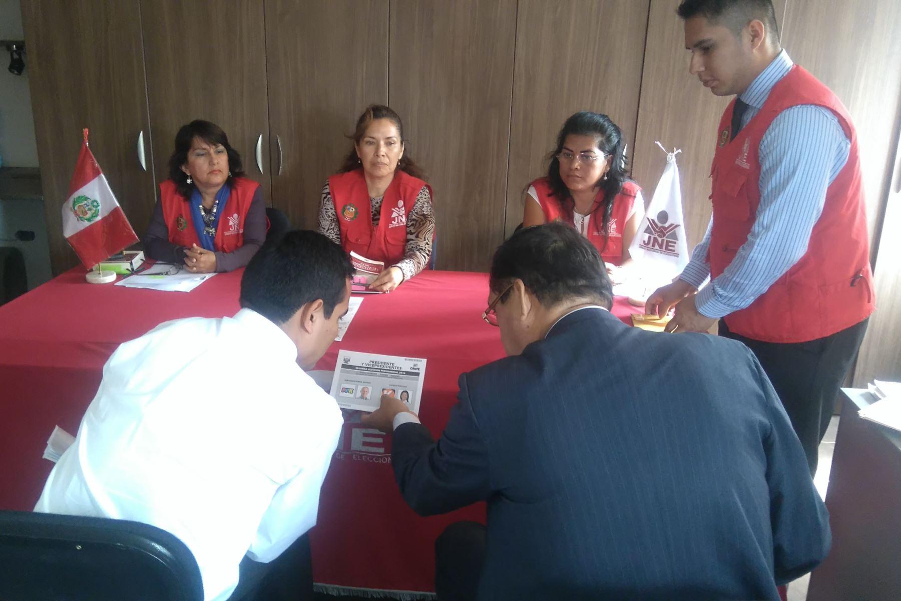 Un total de 23 listas postulan al Gobierno Regional de Áncash, reveló el JEE de Huaraz. ANDINA