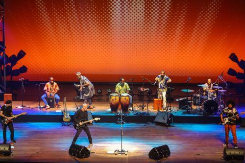 Concierto de Miki González en el gran teatro nacional