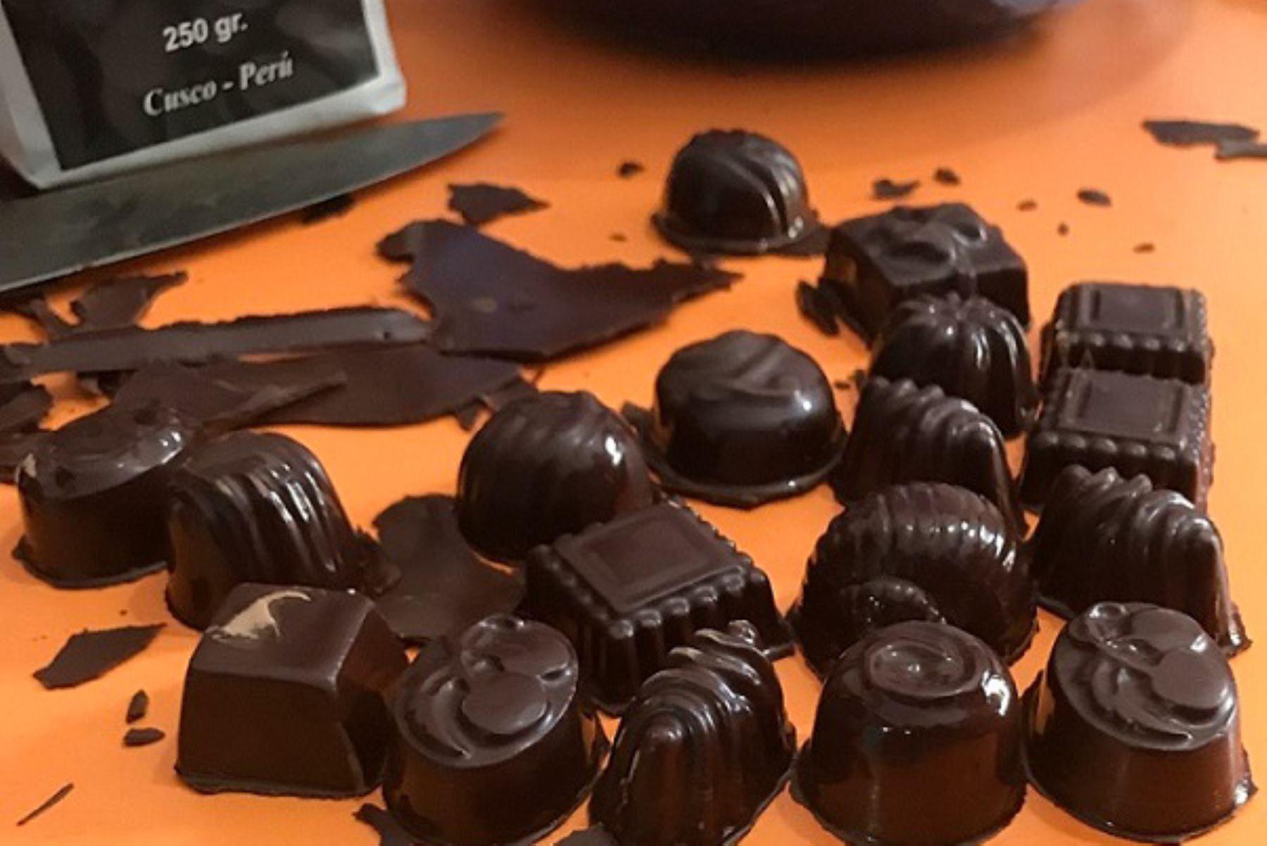 Chocolates. ANDINA/Difusión