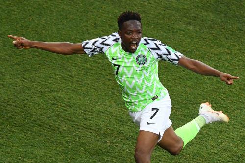 Nigeria gana 2-0 a Islandia por Grupo D de Rusia 2018