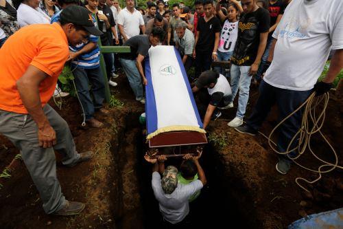 Uno de los muertos en las protestas en Nicaragua Foto: AFP