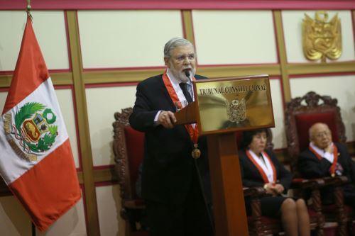 Ceremonia del  Vigésimo segundo Aniversario  Institucional del Tribunal Constitucional