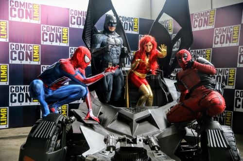 "El ""Convention Comic"" en Lima"