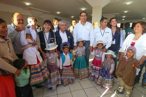 Presidente Martín Vizcarra, clausuró  el Muni Ejecutivo  en  la ciudad de Arequipa