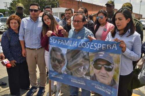 Colombia confirma que cuerpos hallados son de periodistas ecuatorianos