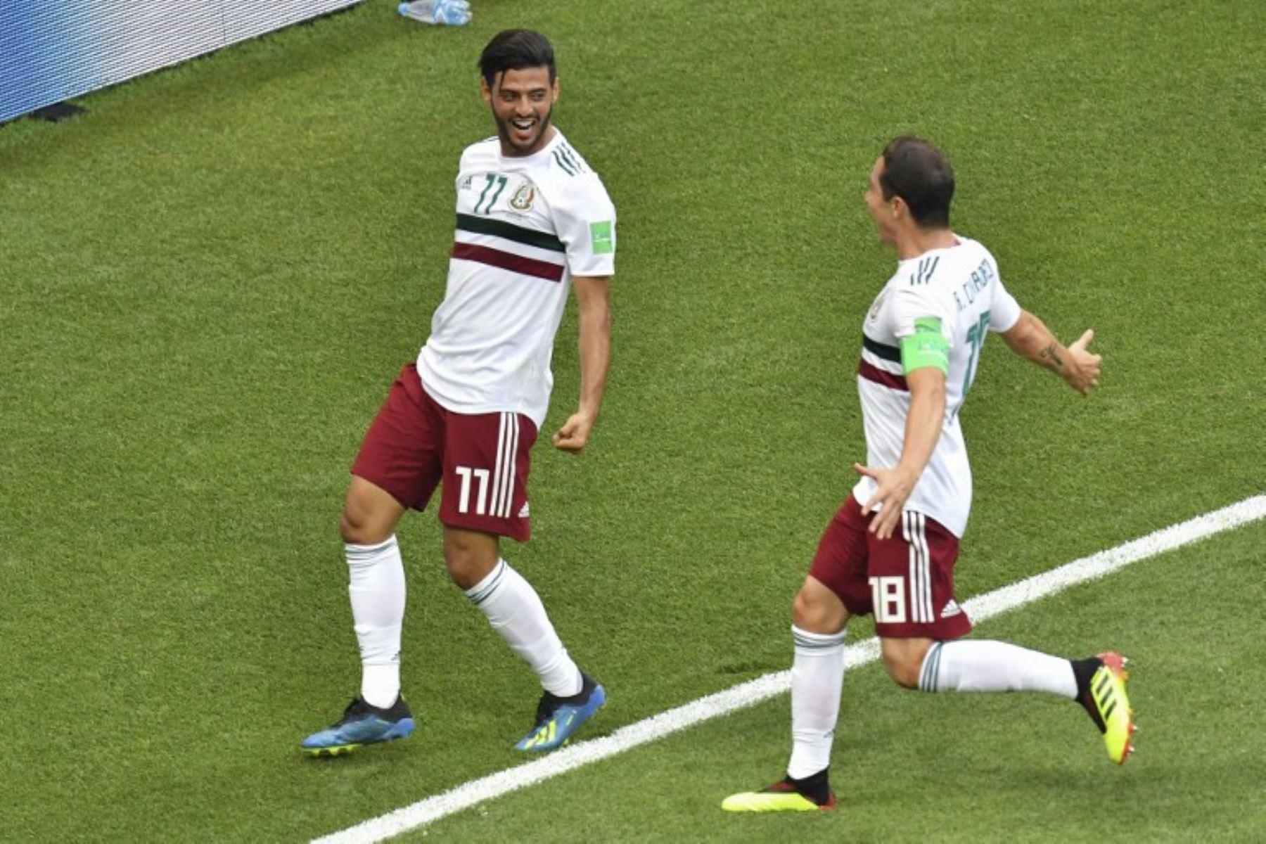 México y Corea del Sur juegan en Rostov Arena