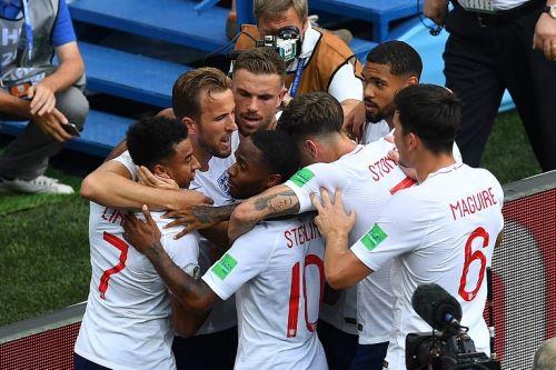 Inglaterra goleó 6-1 a Panamá por el Grupo G
