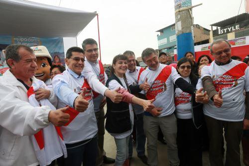 Gobierno lanza hoy Segunda Jornada Nacional contra la Anemia