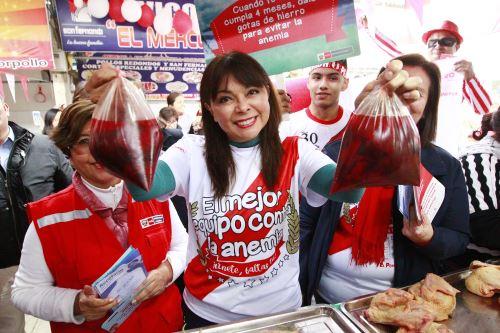 Gobierno lanza Segunda Jornada Nacional contra la Anemia