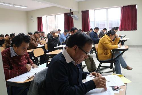 Examen del CNM. Foto: Difusión.
