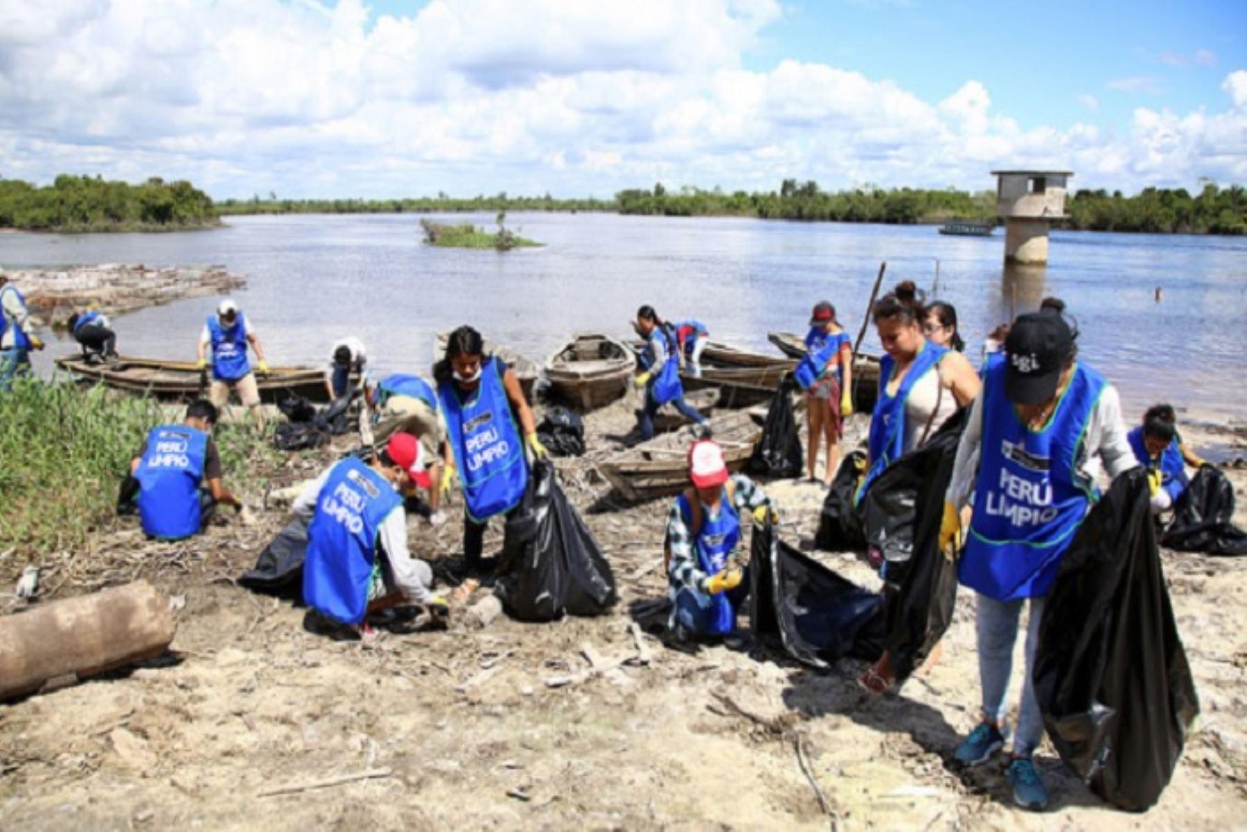 Campaña Perú Limpio recogió 2.3 toneladas durante Fiesta de San Juan
