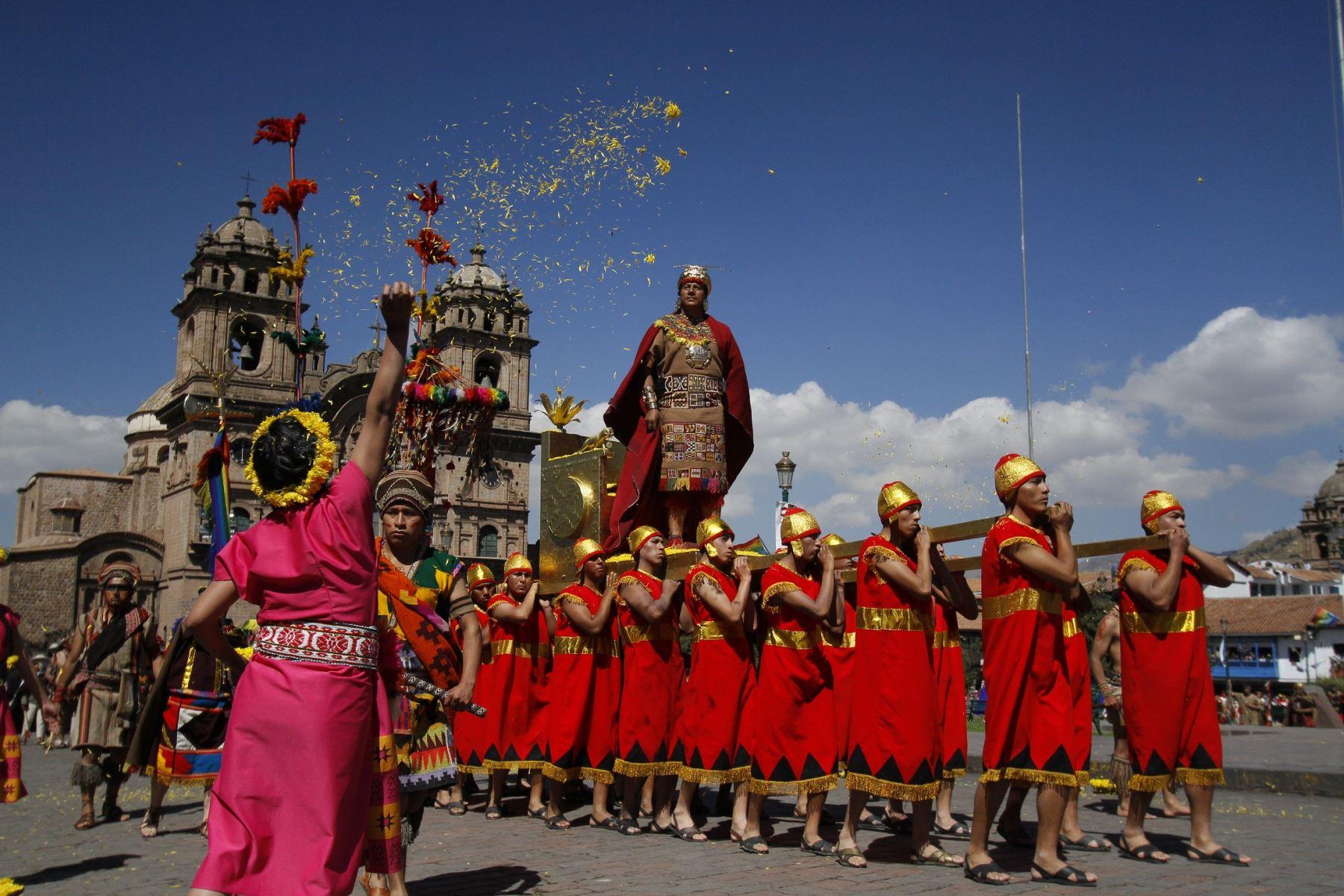 Así vivió Cusco la espectacular Fiesta del Inti Raymi.Foto:  ANDINA/Percy Hurtado