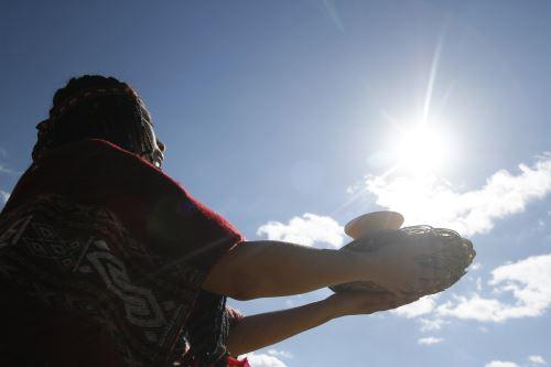 """Inti Raymi o """"fiesta del Sol"""" festividad religiosa más importante en el tiempo de los Incas"""