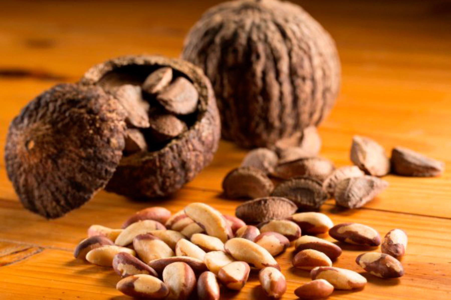 Inacal aprobó la norma técnica que impulsará la producción de calidad de la castaña amazónica. ANDINA/Difusión