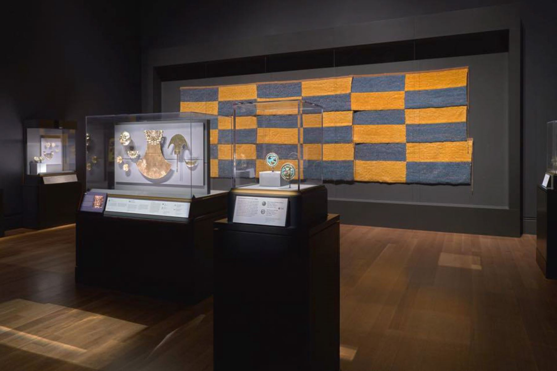 Más de 400,000 personas admiraron al Señor de Sipán en exposición realizada en Estados Unidos. ANDINA