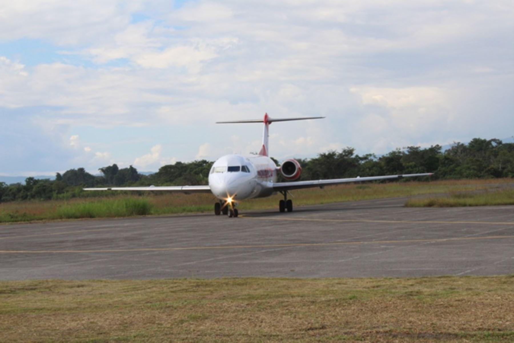 Gobierno subsidiará pasajes aéreos en la ruta Rodríguez de Mendoza-Tarapoto, que unirá a localidades de Amazonas y San Martín. ANDINA/Difusión