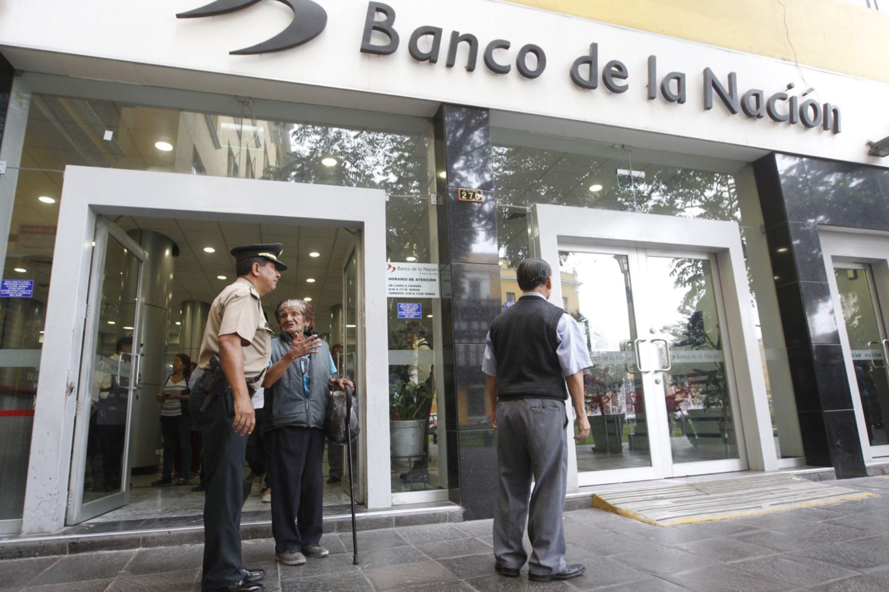 Foto:  Agencia del Banco de la Nación.