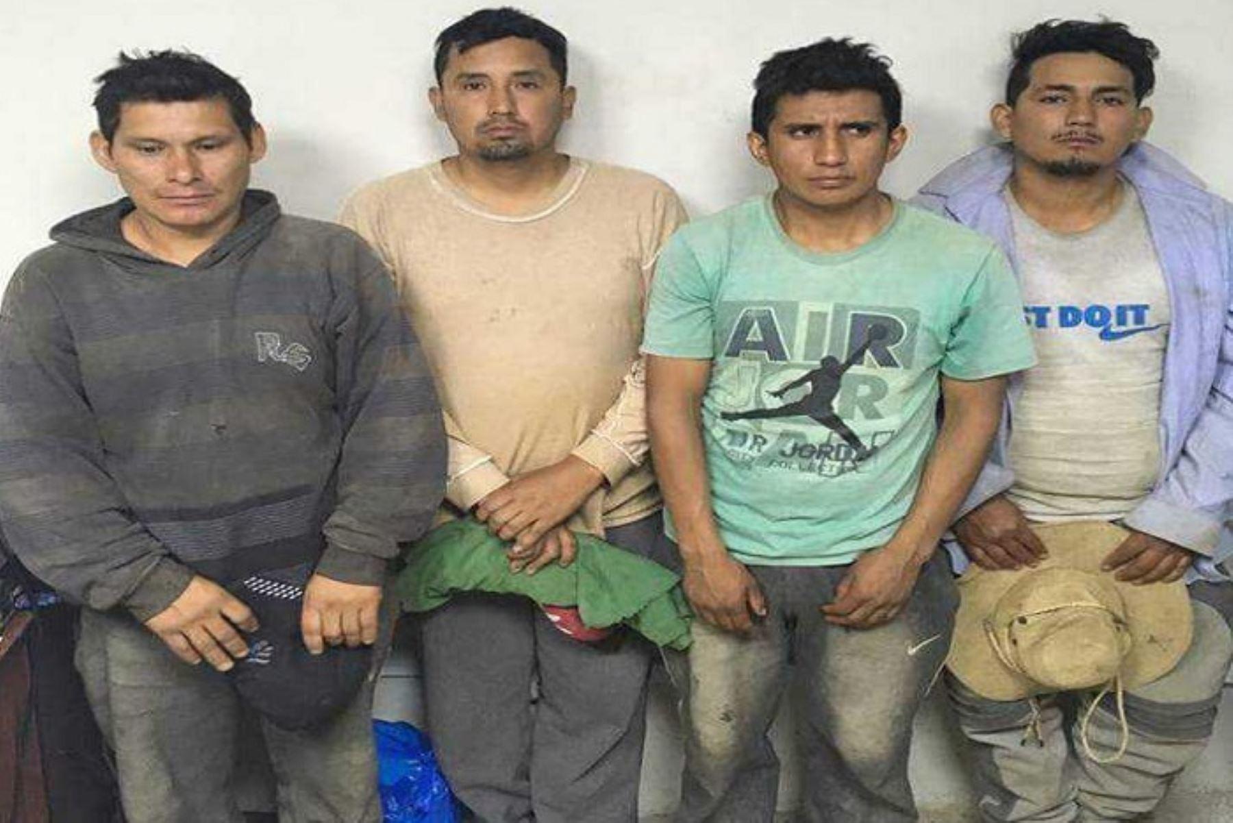 Huarmey: 21 detenidos en operativo contra la minería ilegal