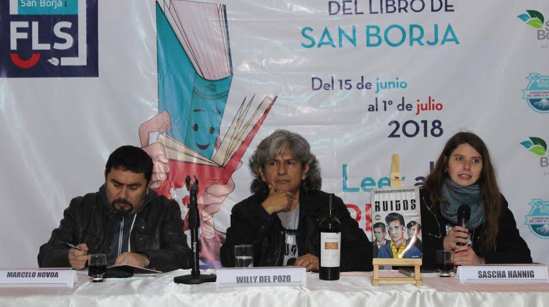 """Presentación de antología dedicada a Los Prisioneros """"Hermosos ruidos"""""""