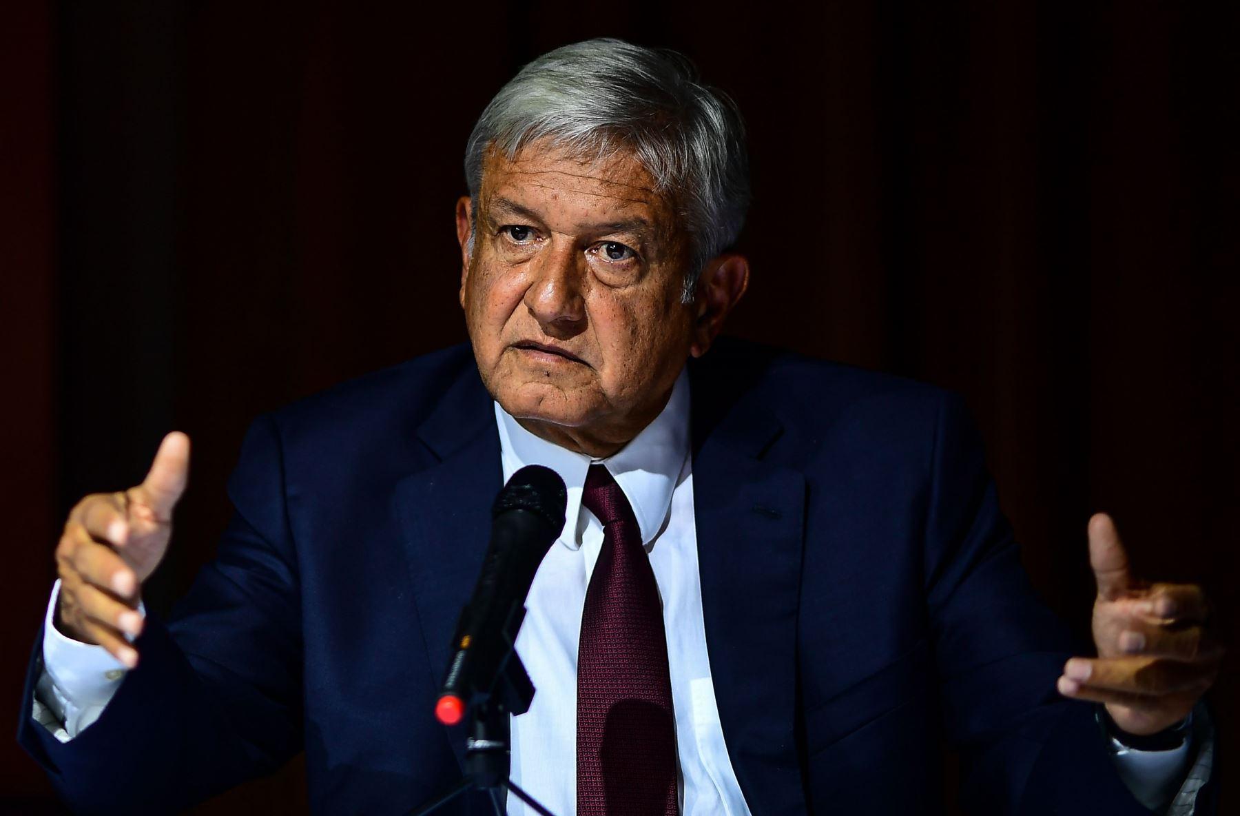 El presidente electo de México, Andrés Manuel López Obrador Foto: AFP