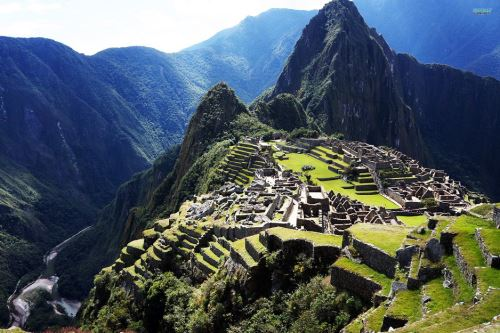 Macchu Picchu ANDINA/Difusión