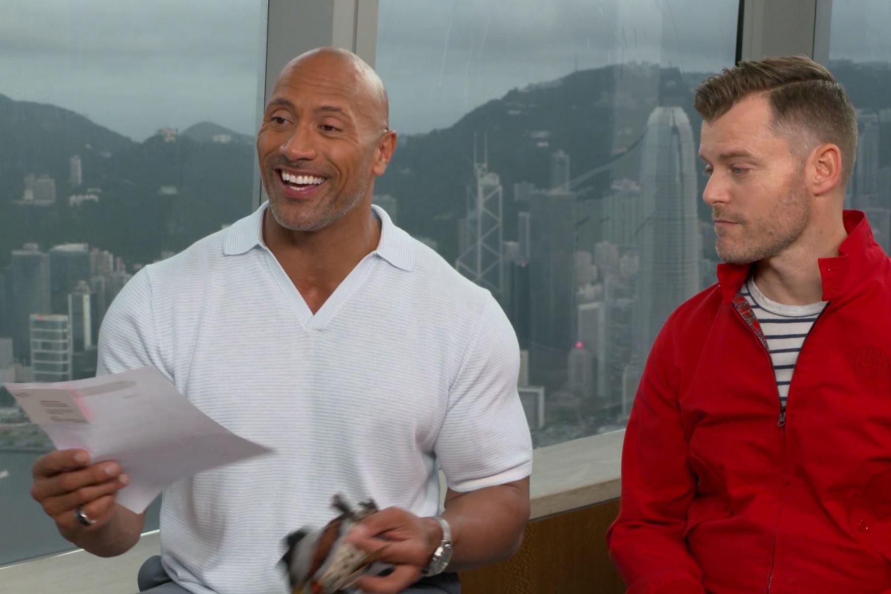 Dwayne Johnson se emocionó al recibir invitación oficial a Perú