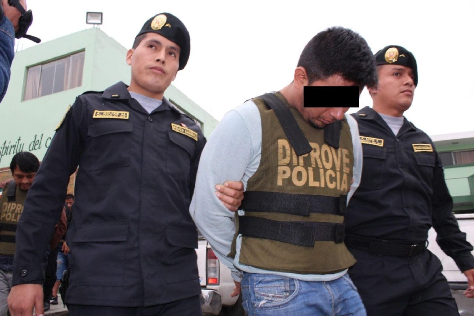 Detienen a tres personas involucradas en robo de vehículos en Independencia y VMT. Foto: ANDINA/Difusión.