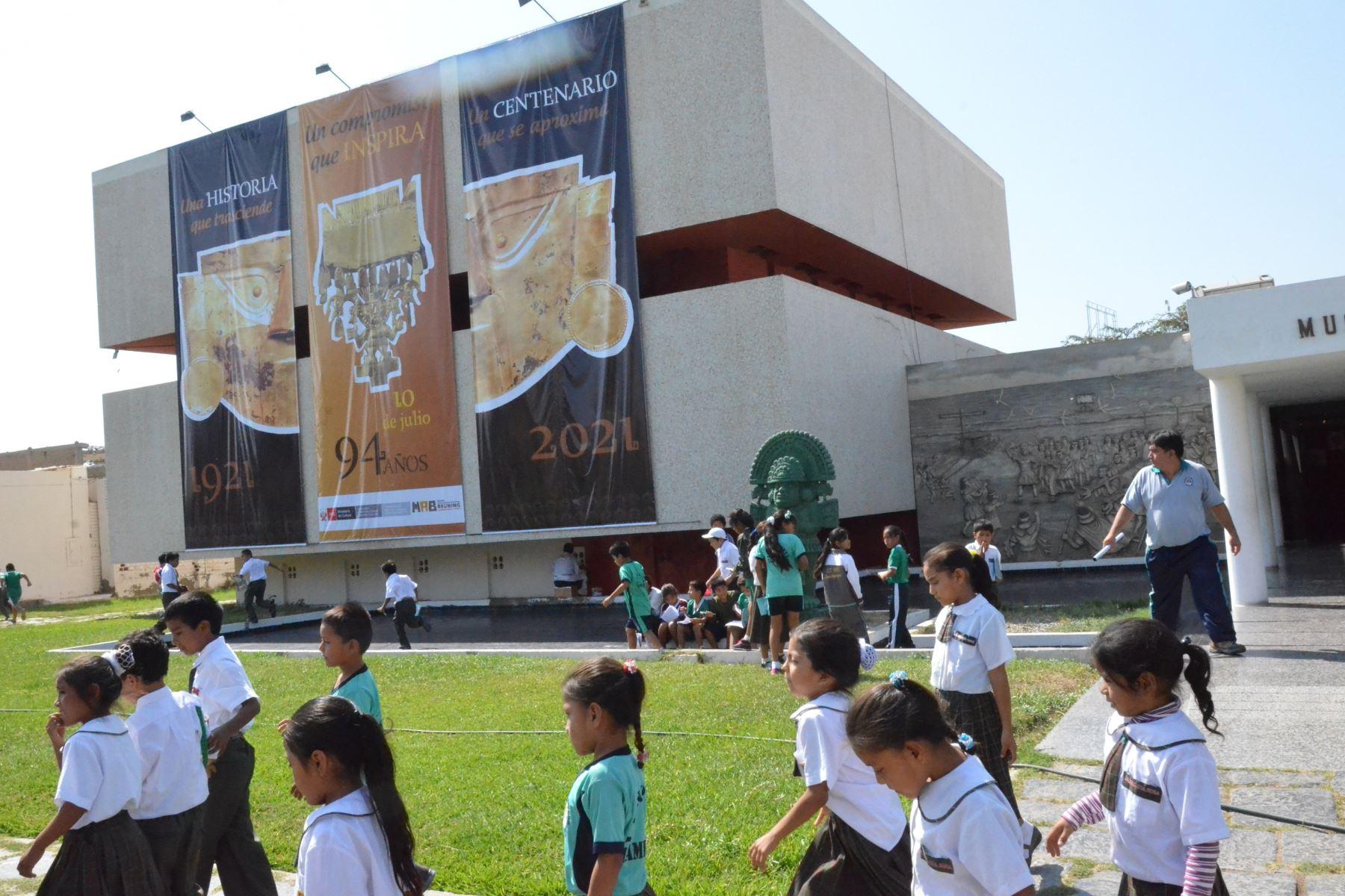 Museos de Lambayeque recibieron más de 172,000 visitantes en lo que va del año. ANDINA