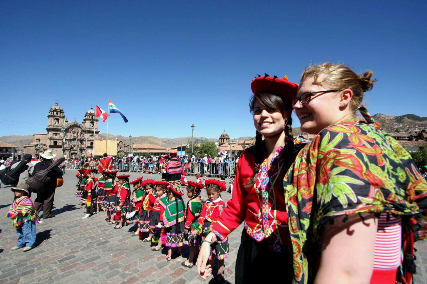 Turistas eligen a Cusco como su ciudad preferida de América Latina. Foto: ANDINA/Percy Hurtado Santillán.