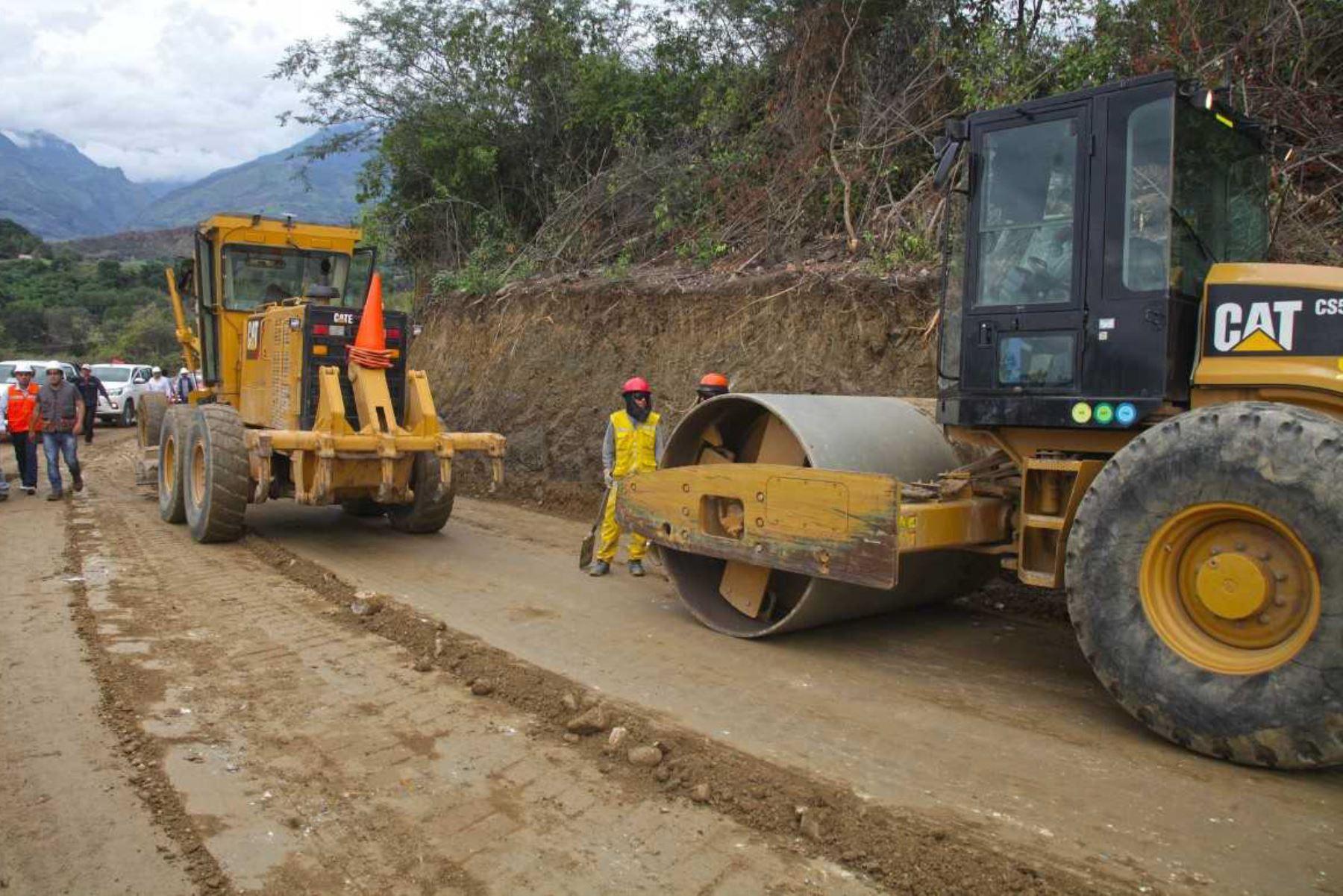 Una inversión de S/ 1,177 millones se destinará para reiniciar la ejecución de 48 proyectos viales e impulsar la reactivación económica del país.. ANDINA/Difusión