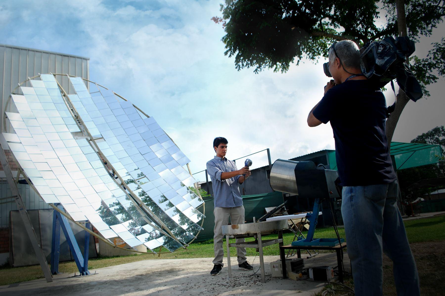 Innovación. Foto: ANDINA/Difusión