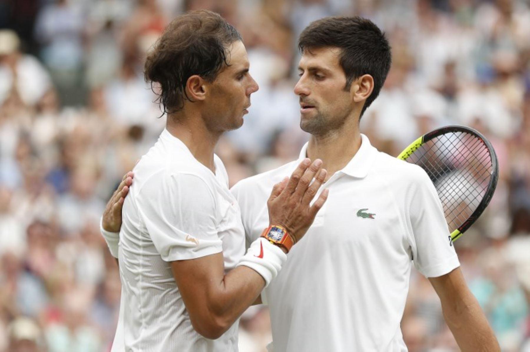 Federer Nadal Y Djokovic Una Dinastia Sin Fin En La Edad Dorada Del Tenis Noticias Agencia Peruana De Noticias Andina