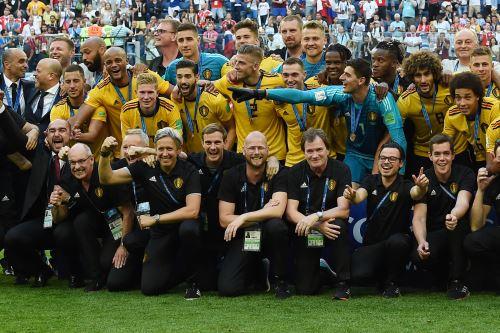 Bélgica gana 2-0 a Inglaterra en el estadio de San Petersburgo por el tercer puesto del Mundial Rusia 2018