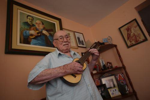 Homenaje al gran musico Jaime Guardia