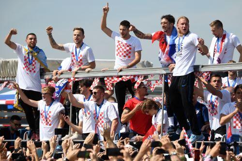 Selección de Croacia es recibida con honores