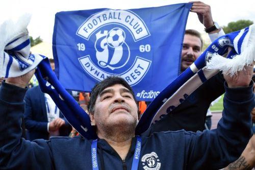 Maradona asume la presidencia del Dinamo Brest de Bielorrusia