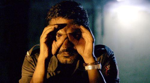 Escena de la película india Raman Raghav 2.0