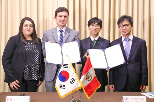 Agencia de Cooperación Internacional de Corea apoyará en remediación de pasivos ambientales mineros. ANDINA/Difusión