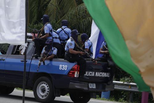 Policía en Masaya Foto: EFE