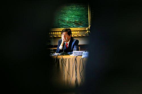 Presentación del consejero Iván Noguera en la Comisión de Justicia del Congreso de la República