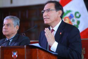Presidente de la República, Martín Vizcarra. ANDINA/Prensa Presidencia