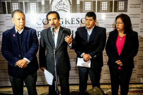 Congresistas se pronuncian sobre la situación del Consejo Nacional de la Magistratura