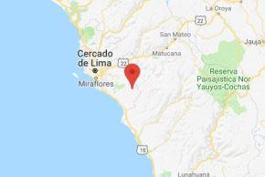 Sismo se registró esta tarde en Lima. Foto: Andina/Difusión